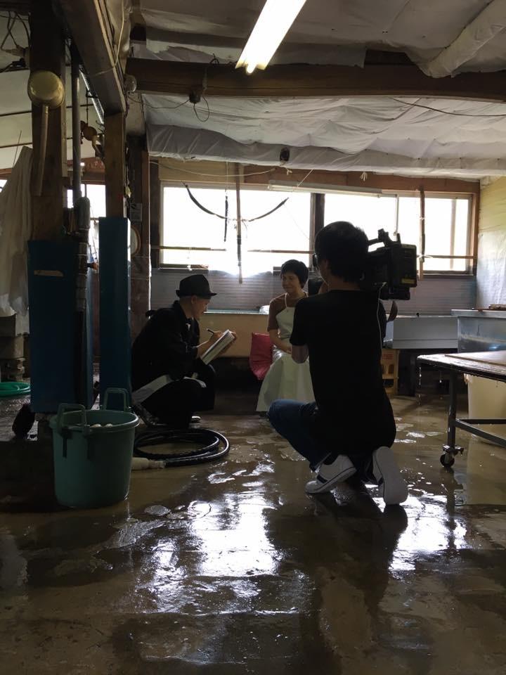 写真展『JEWELRIES』撮影にて福井テレビ取材放送