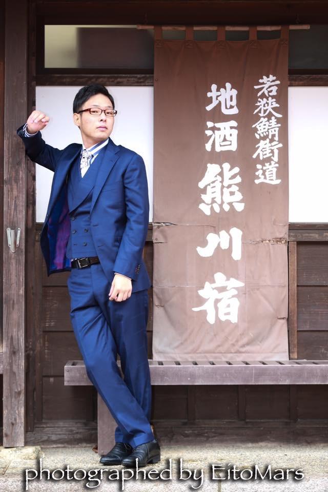 若狭ブランド『若侍project』撮影