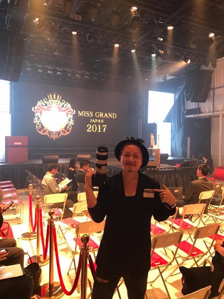 MISS GRAND JAPAN 2017PRESS撮影