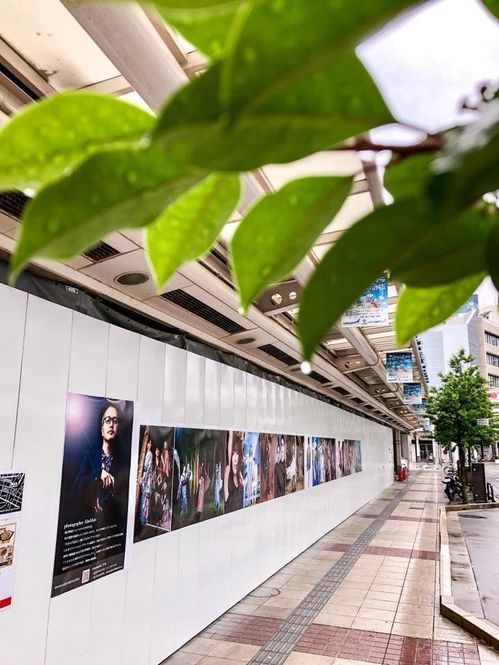 初の路上写真展『Art Street』