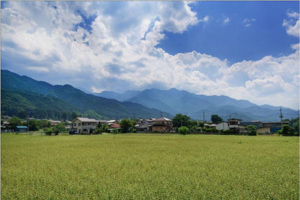 地方の田園風景の写真
