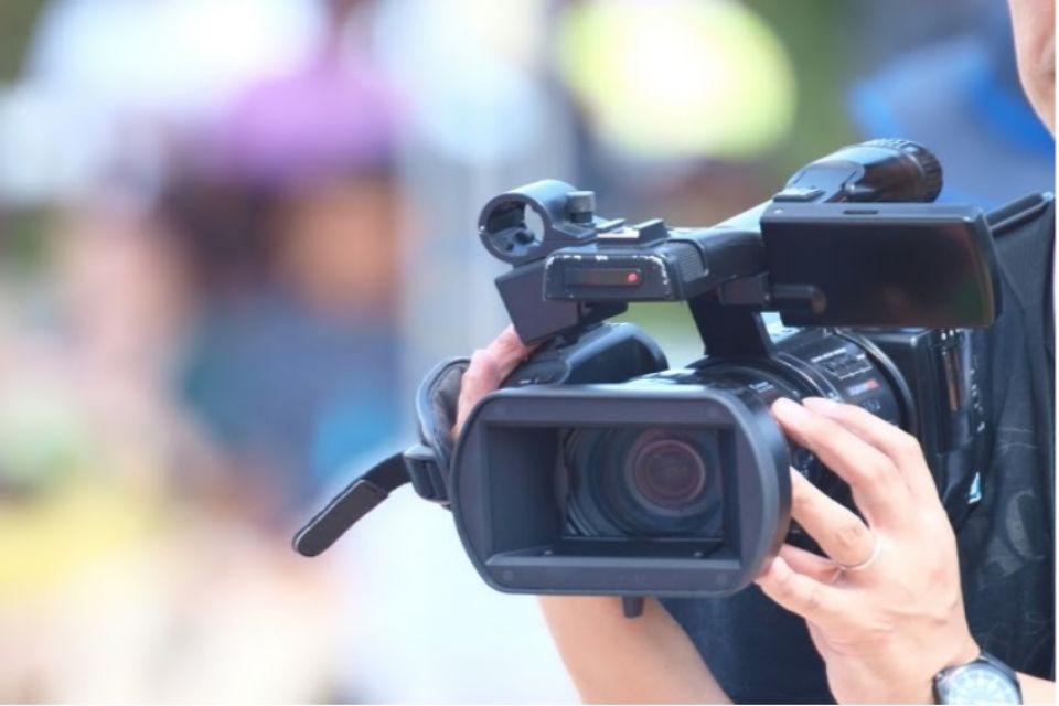 動画を撮影している写真