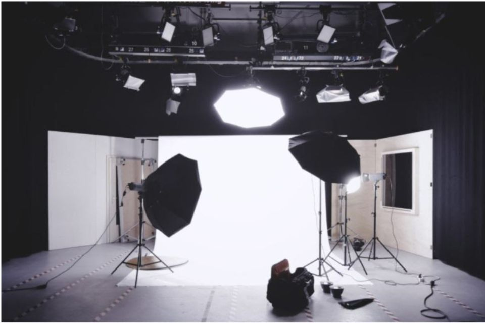 プロの撮影現場