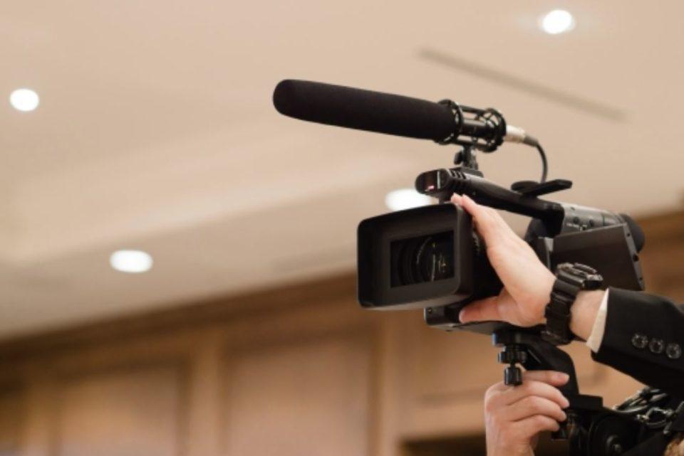 動画撮影用のカメラ