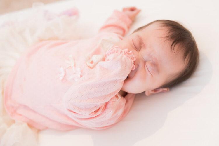 赤ちゃんにとってストレスになる可能性イメージ画像